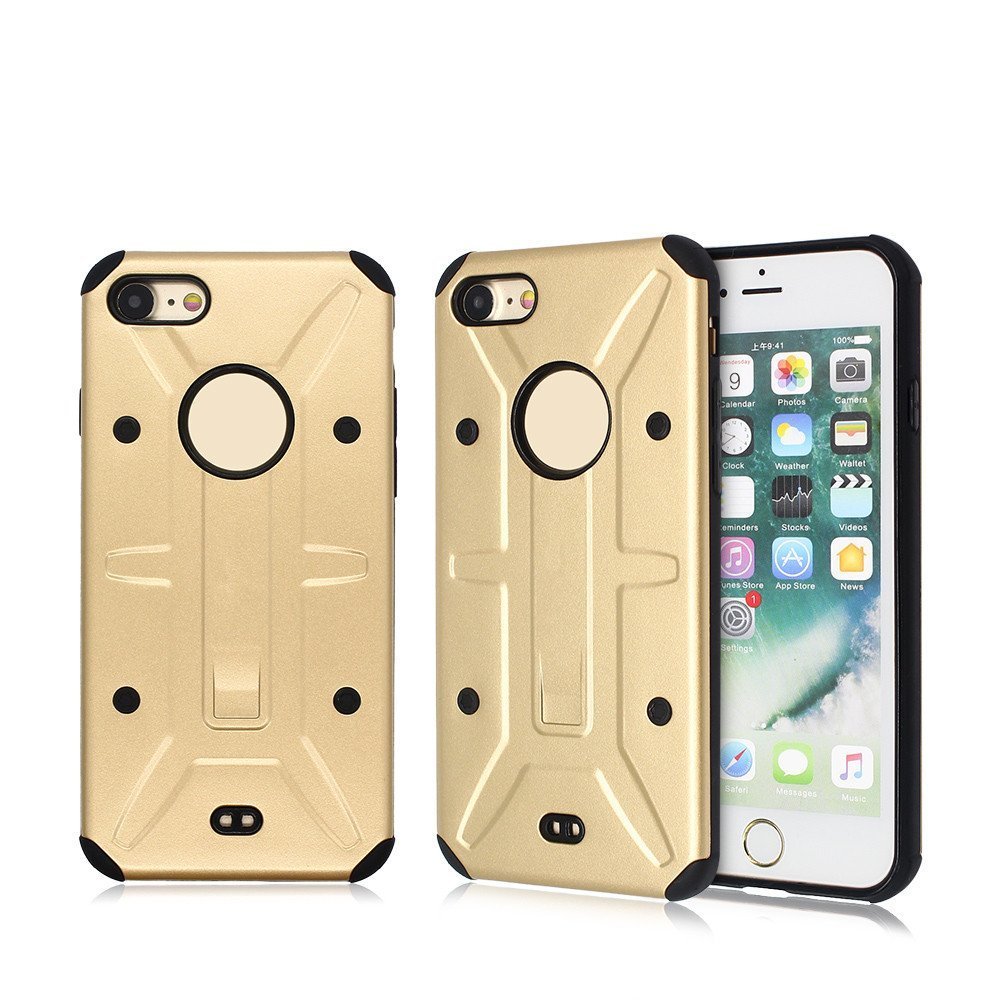 Combo Case for iPhone 7 Consisted of PC and TPU Parts for Wholesale