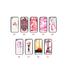 Caso de impresión de color de superficie de vidrio al por mayor para IPhone 7