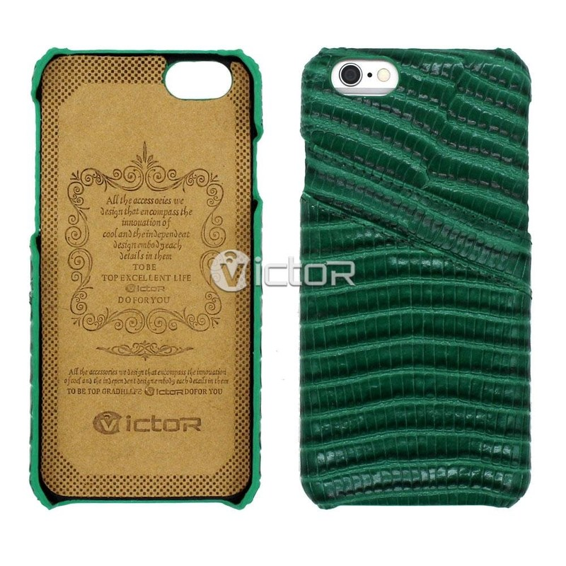 Victor Genuine Leather Back Cover for iPhone 6