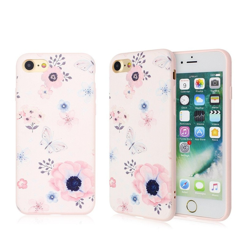 Cute Phone Cases with Embossed Nice Artwork for iPhone 7