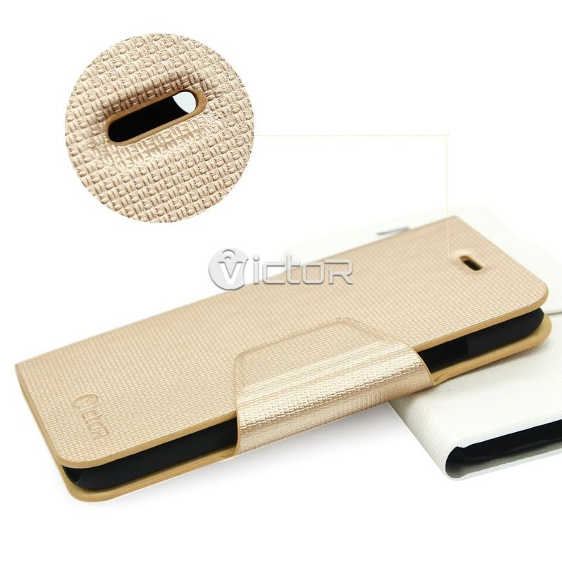 Victor Wallet Flip iPhone 6 PU Leather Case