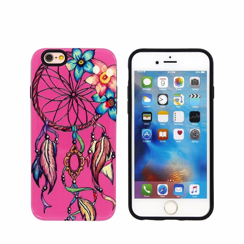 Dream Catcher Theme 2in1 Protective TPU Case for iPhone 6