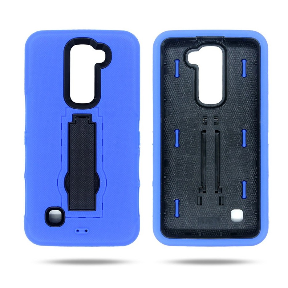Victor Newly Designed Silicone PC Combo LG K7 Phone Cases wholesale