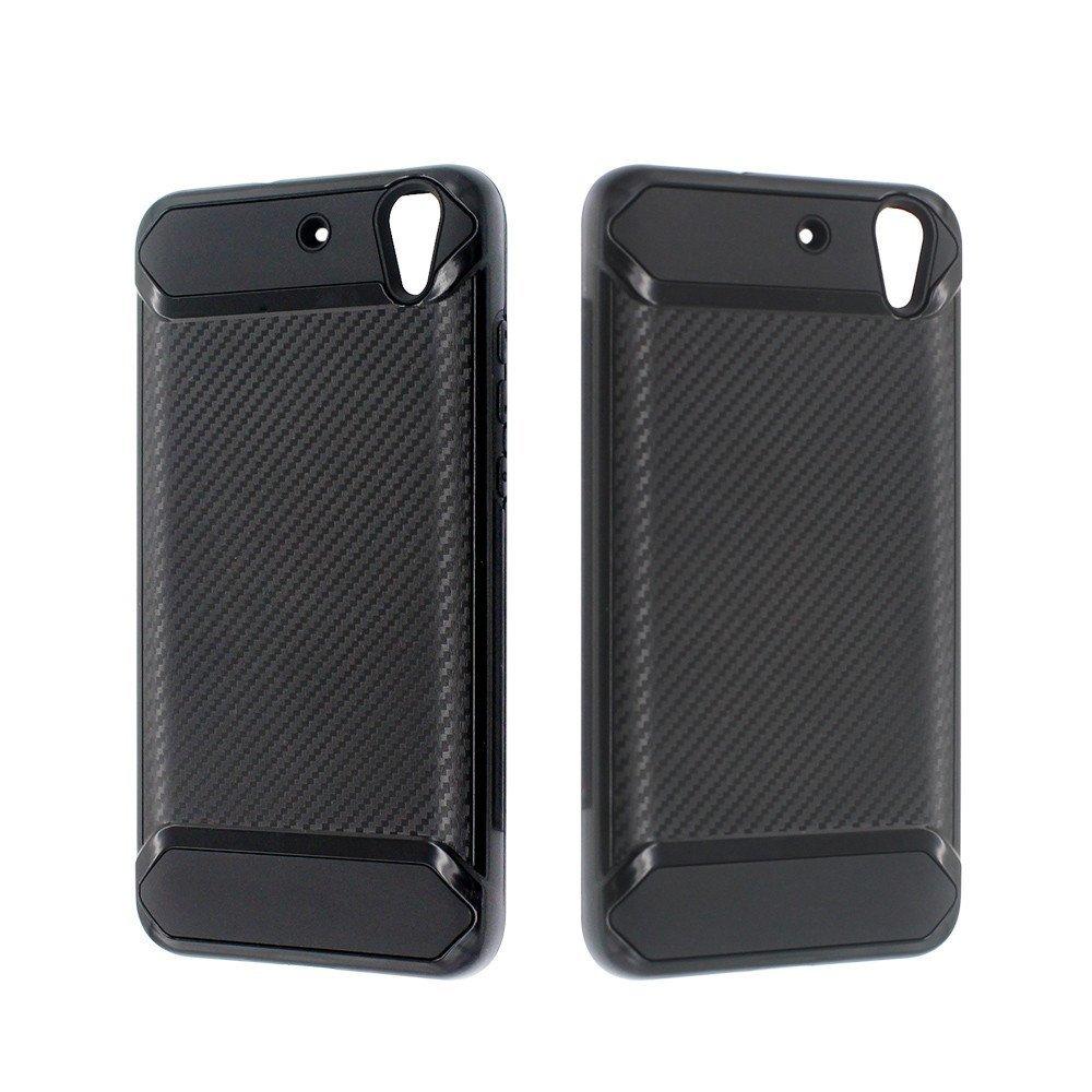 Pretty Cool fibra de dibujar armadura teléfono caso para Huawei Y6 II