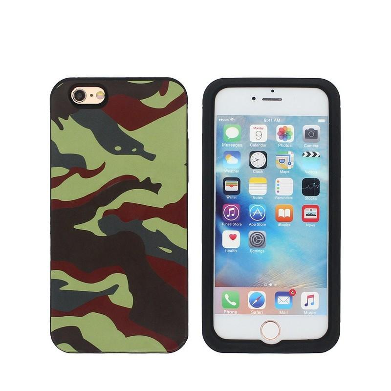 IMD patrón de las ilustraciones iPhone 6 caso del teléfono de silicona