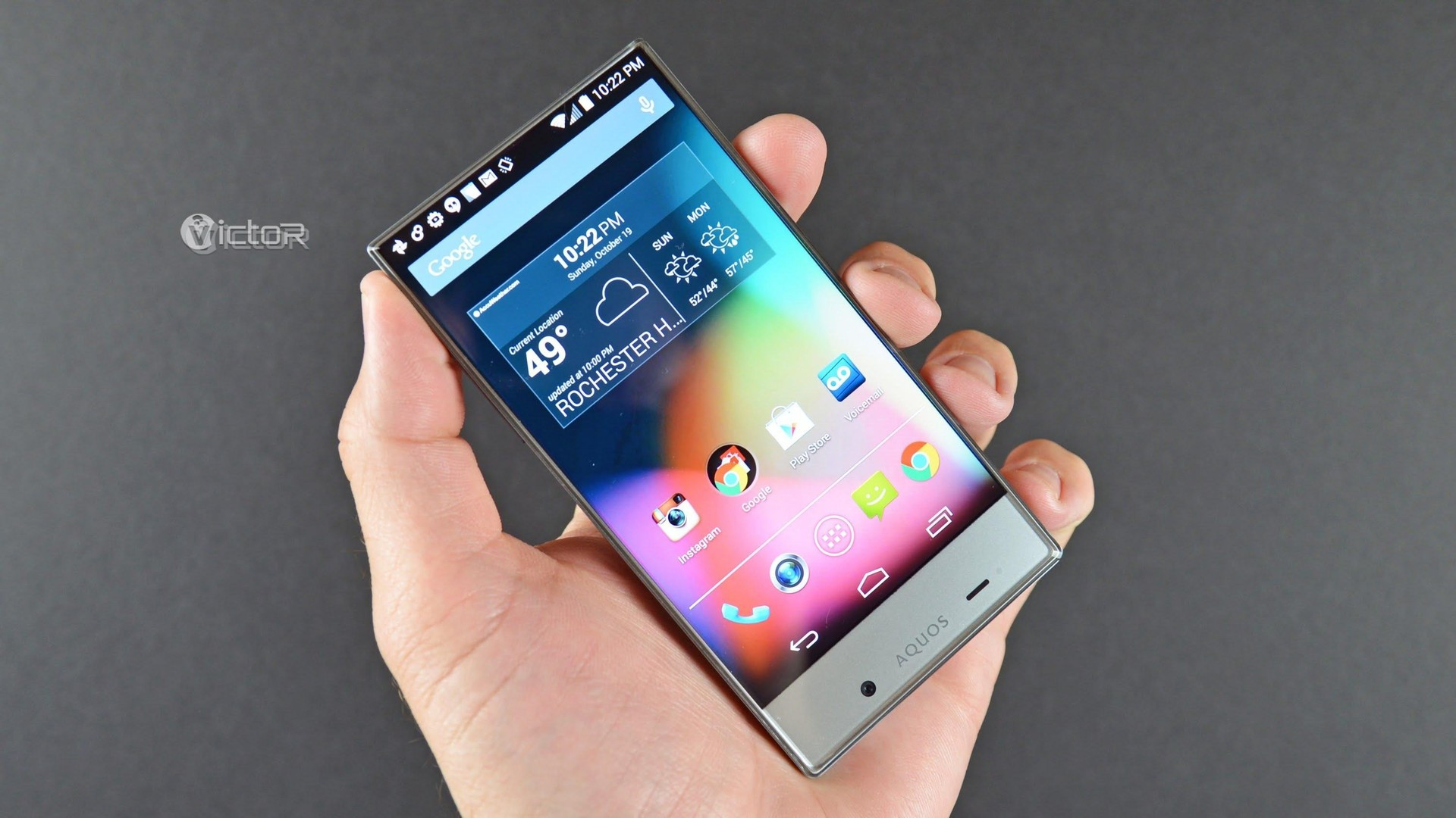 smartphone with max screen - sharp aquos crystal - large screen smartphone - 1