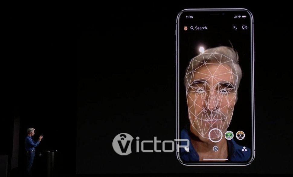 face id - iPhone X - buy iPhone X - 1