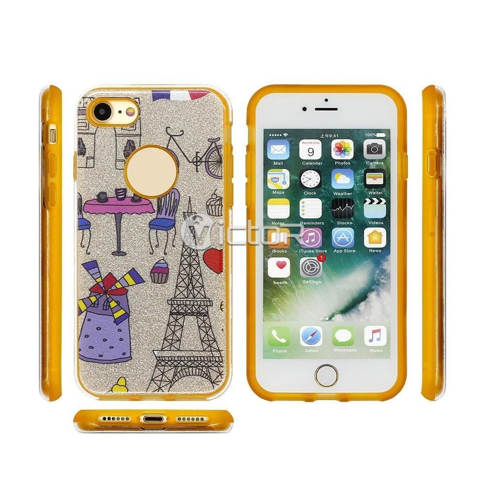 clear phone case - TPU phone case - case for iPhone 7 - (10)