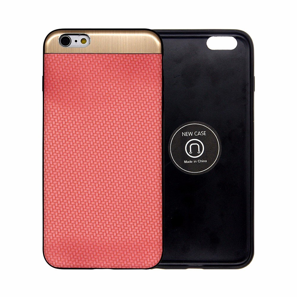 Magnet Inside Paste Leather iPhone 6 Plus Case