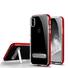 Estuches cristalinos para IPhoneXS MAS con marco galvanizado