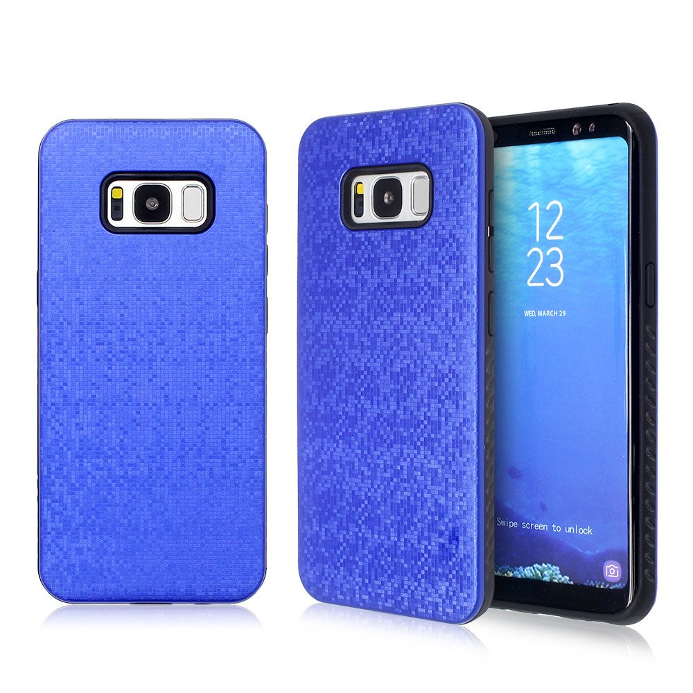 2in1 Design Samsung S8 Phone Case with PC Back Cover