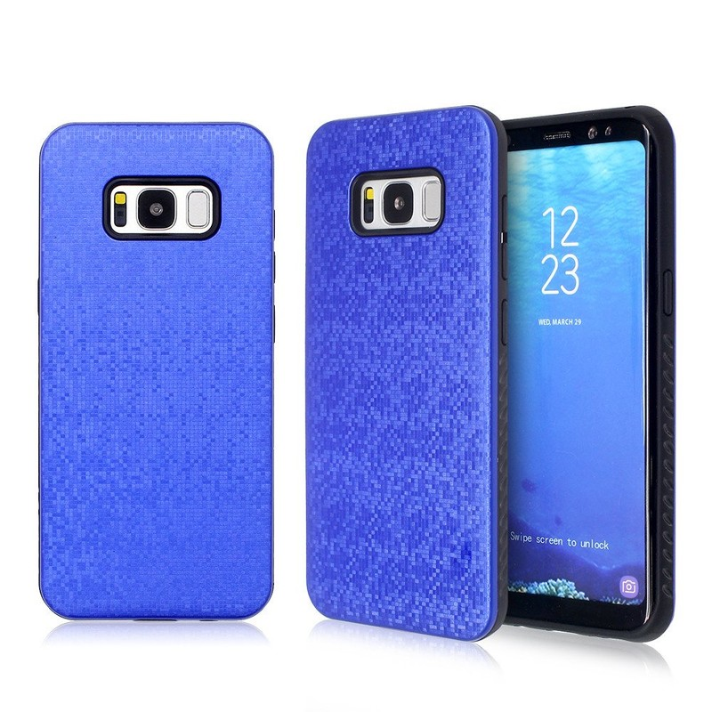 2in1 diseño Samsung S8 teléfono caso con la PC contraportada
