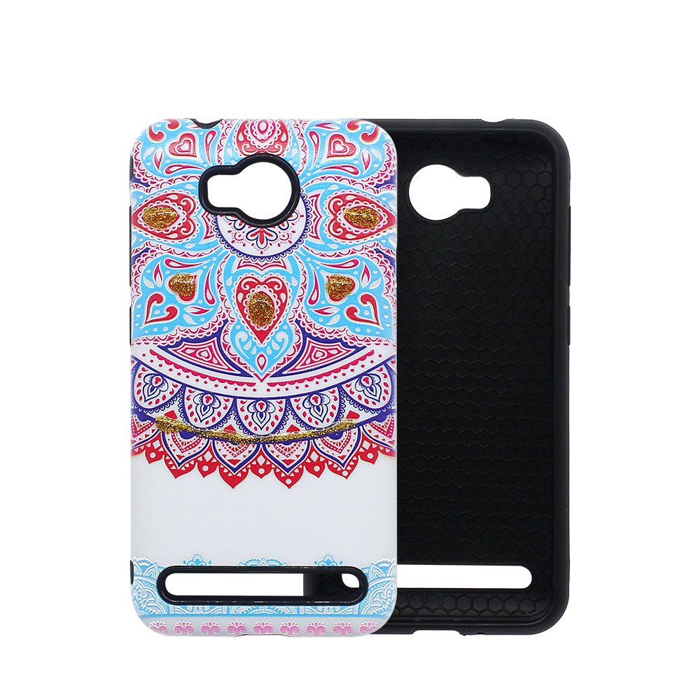 Protector Phone Case for Huawei Y3 II with Invisible Kickstand