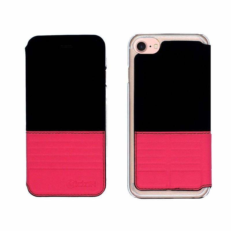 Victor alta clásico de cuero personalizado de teléfonos celulares para el iPhone 7