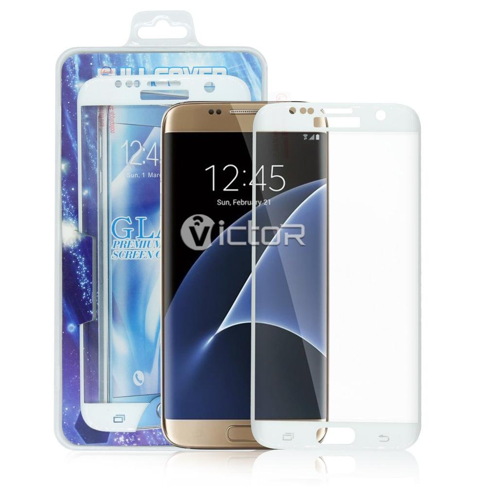 Victor Galaxy S7 Edge Tempered Glass Screen Protector