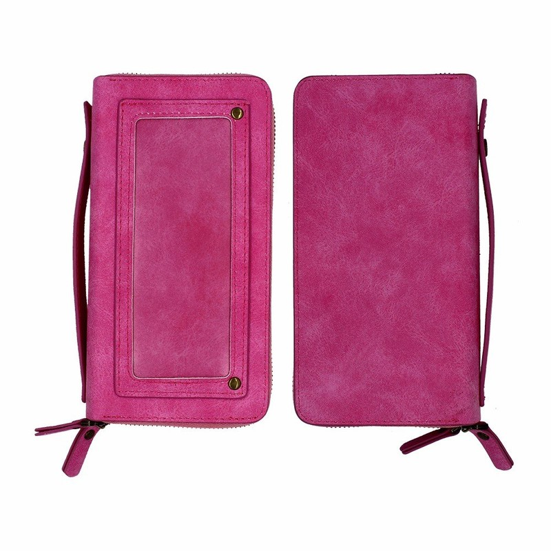 Leather Wallet Cell Phone Case for iPhone 7