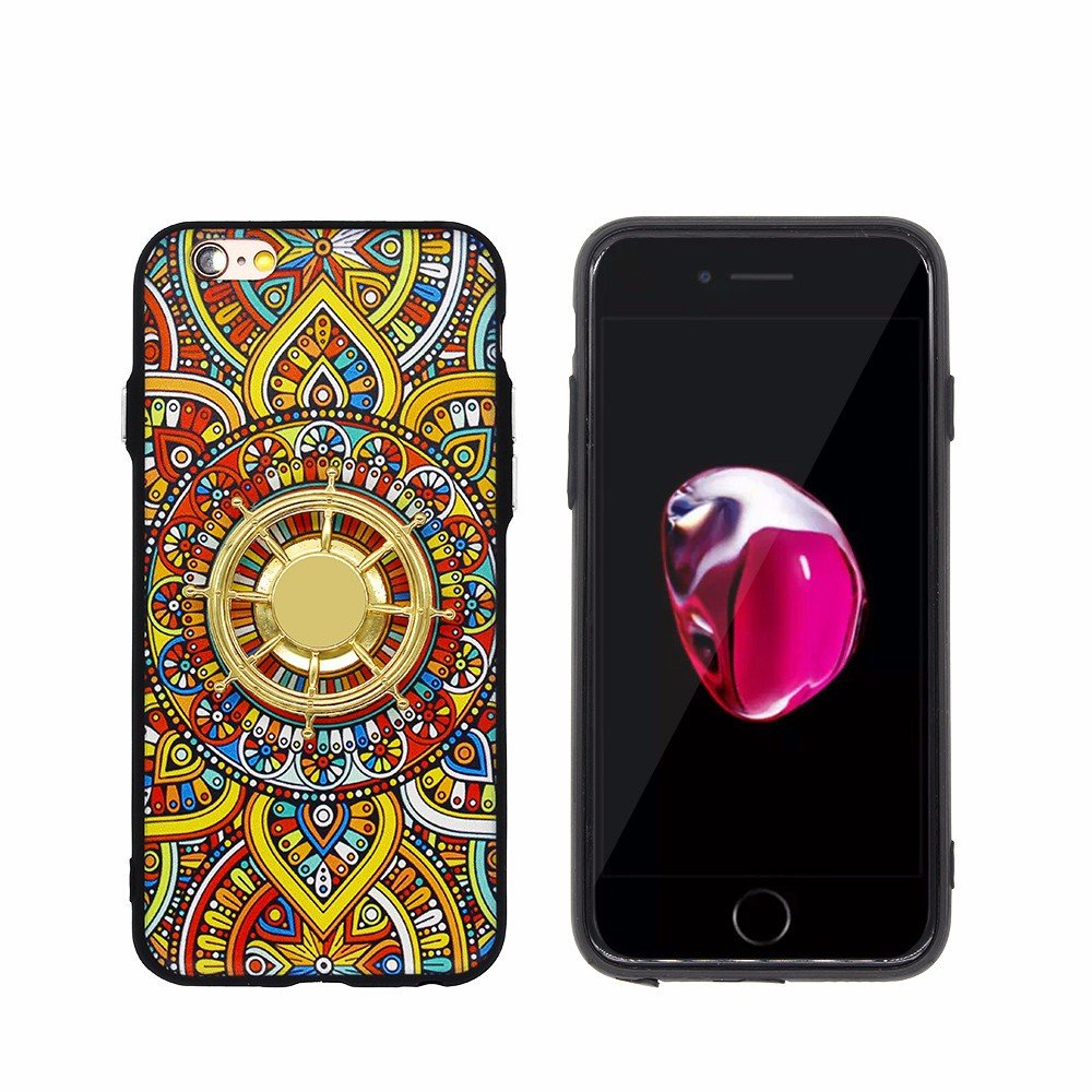 TPU Bumper Fancy iPhone 6 Case with Helm Spinner