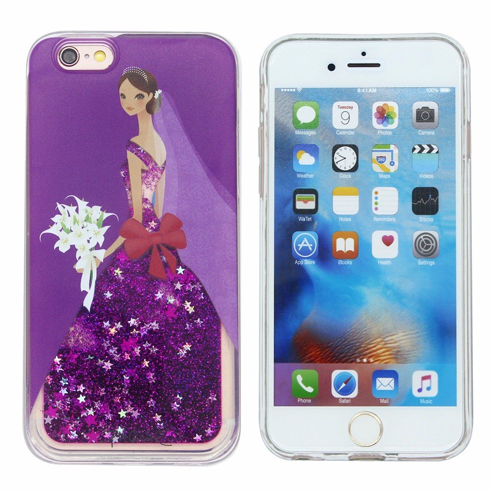 Victor Glittering Pieces Beautiful iPhone 6s Quicksand Cases
