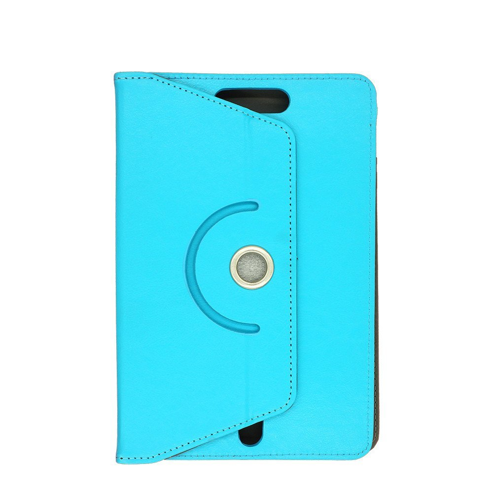 Single Color Rotatable Leather Case for 9 Inch Tablets
