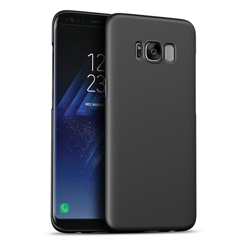Caucho ultra delgado caso del teléfono de la PC para Samsung S8