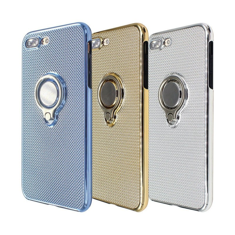 Wholly Wrap Electroplated iPhone 7 Plus Cases with Rings