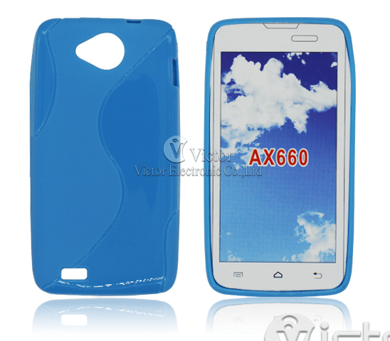 Victor S-Shape Protector TPU Case for Bmobile AX660