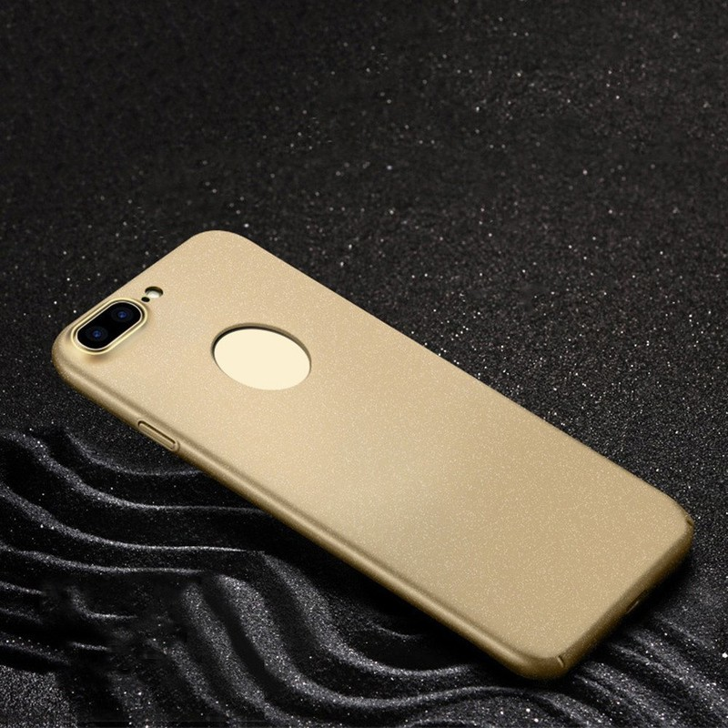 Drop Proof Frosted ultra delgado iPhone 7 Plus PC Phone caso