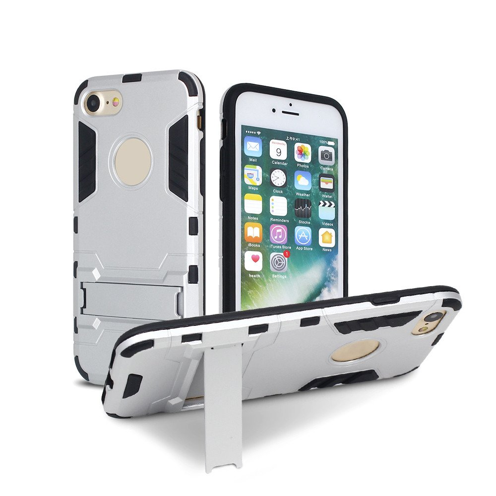 Robotic Feeling Armor Case for iPhone 7 with Kickstand