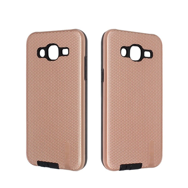 Silk Pattern Two in One Dust Proof Phone Case for Samsung J5