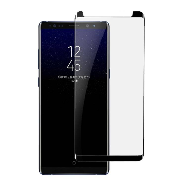 Anti-shatter Silk Print Color Tempered Glass For Samsung Galaxy Note 8