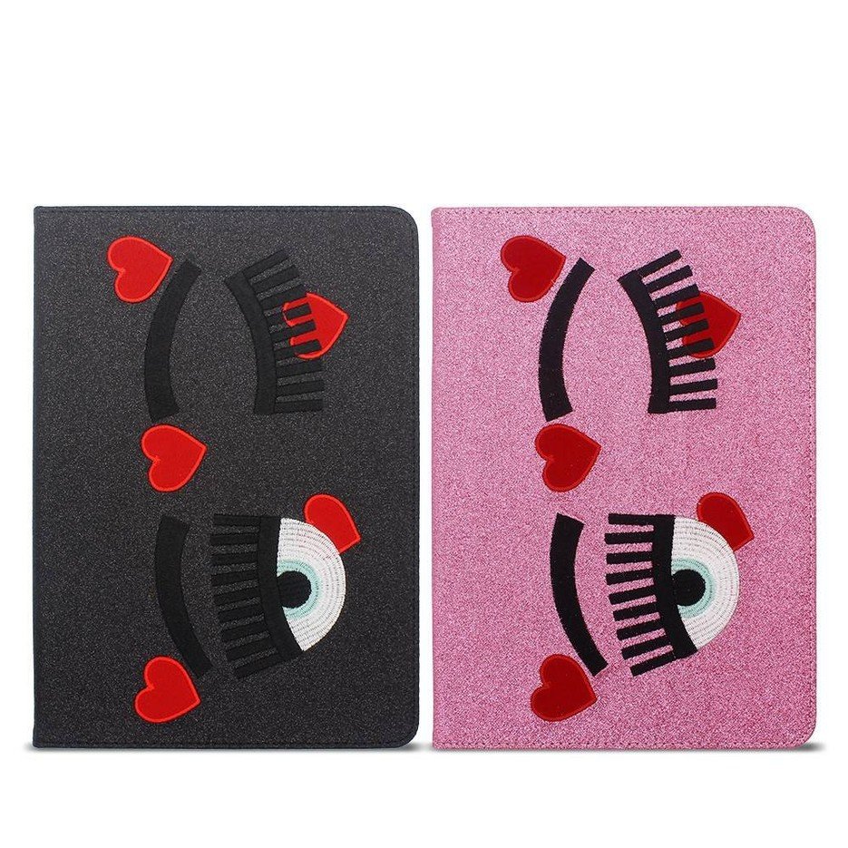 iPad Cases Made of Embroidered PU with Adjustable Angles