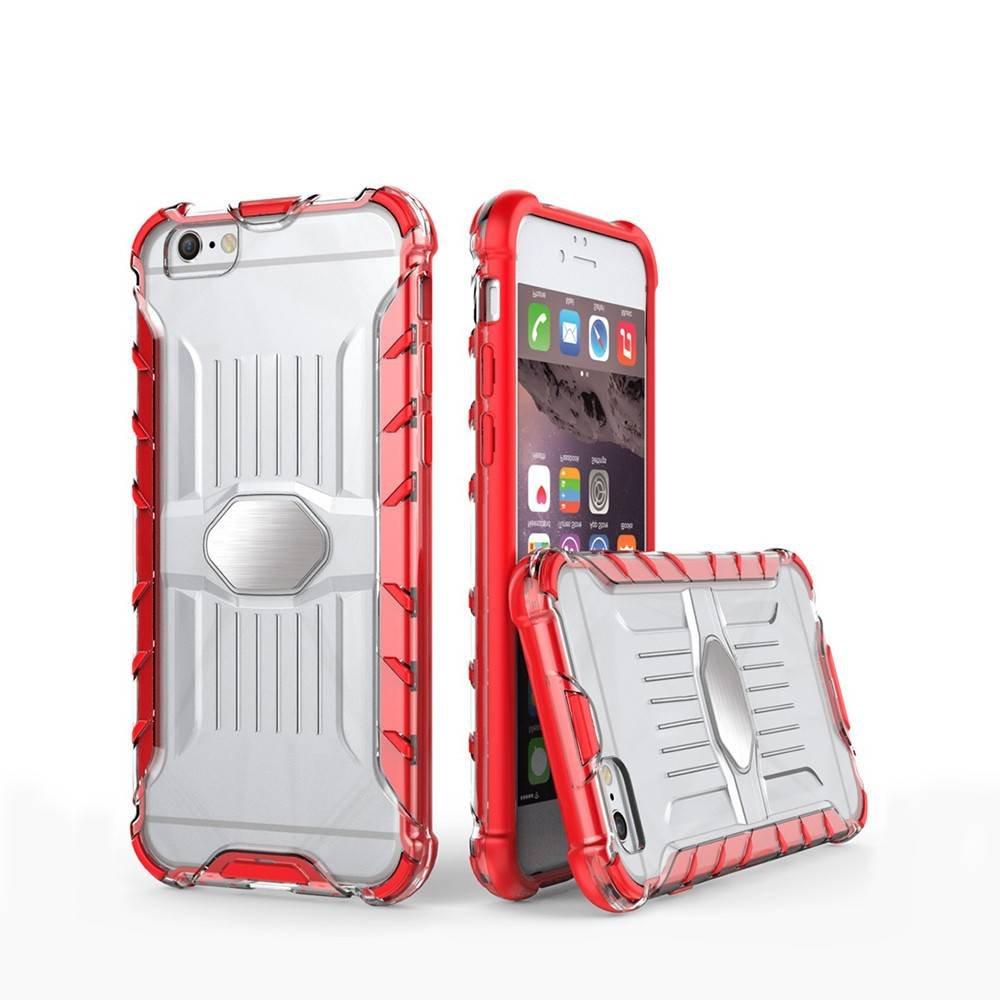 iPhone 6 Clear Phone Case with Elegant TPU Bumper