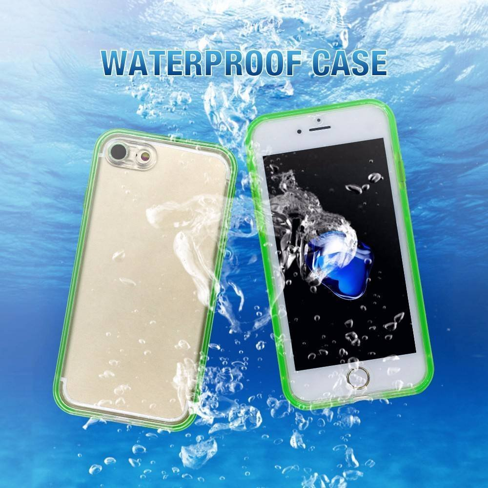 360 Degree Sealed TPU Waterproof iPhone 7 Case