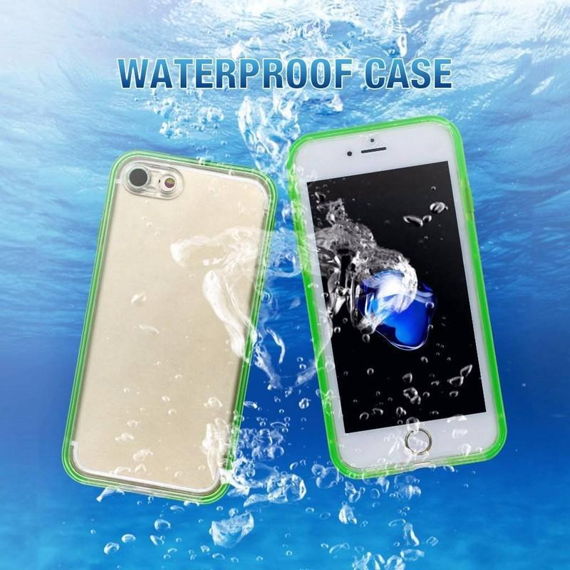 360 Degree Sealed TPU Waterproof iPhone 7 Case