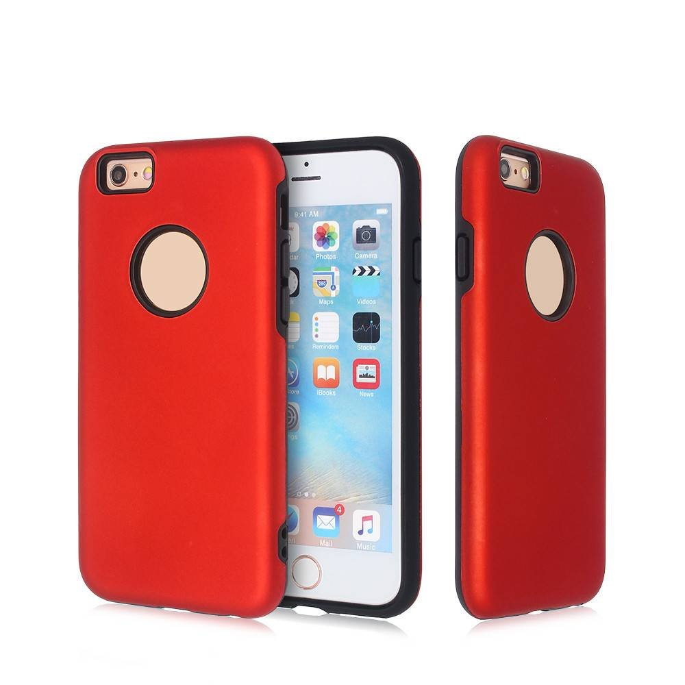Shockproof iPhone 6 Case with Rubberized PC Cover