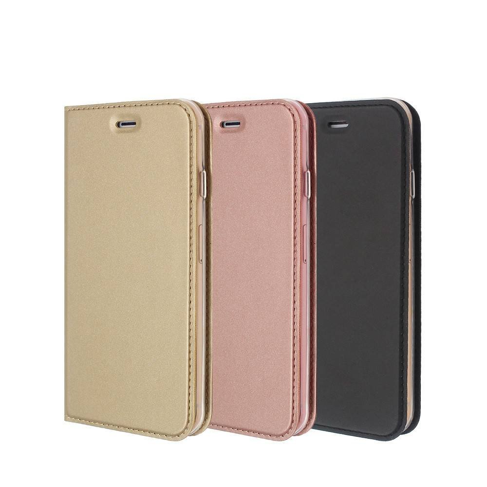 Leather iPhone 6 Case in Foldable Stand Wallet Design