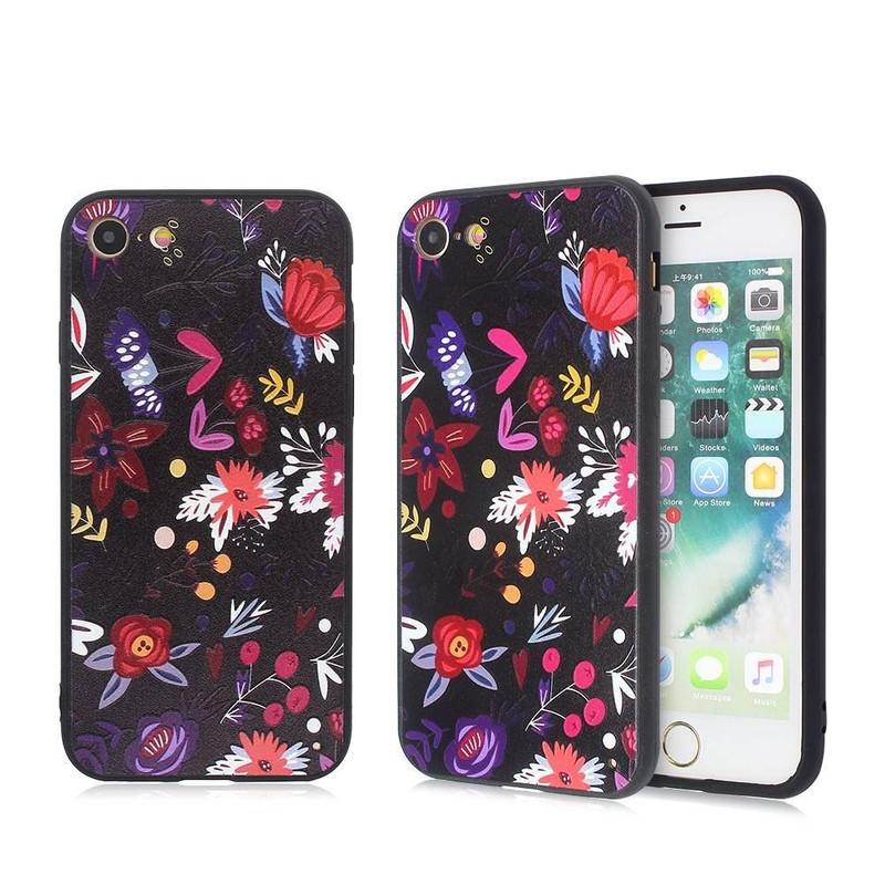 Beautiful Phone Cases iPhone 7 con arcos y anillos en relieve