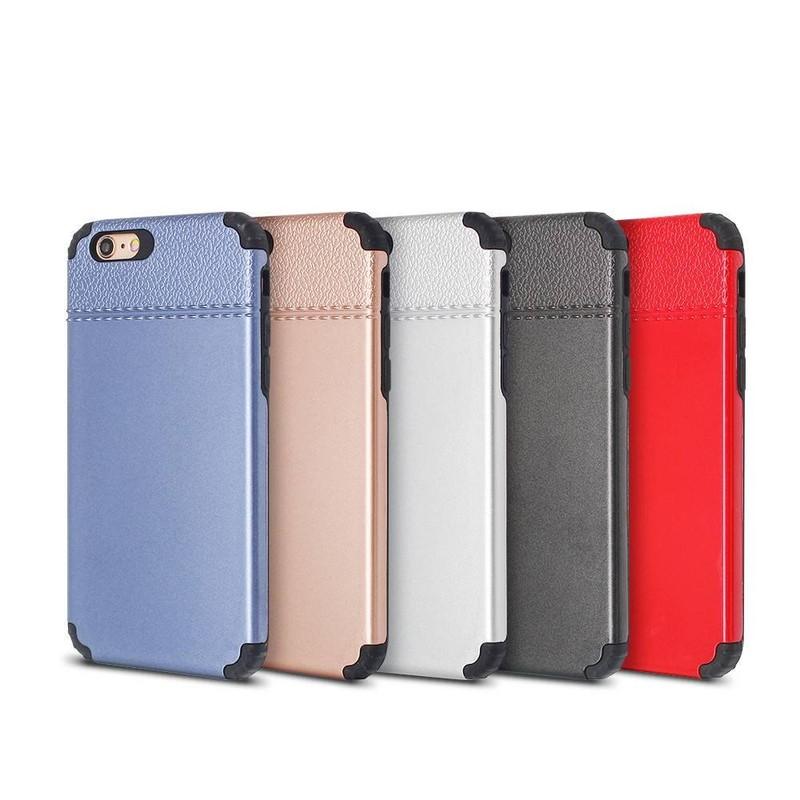 Funda protectora para iPhone 6 con esquinas gruesas de TPU