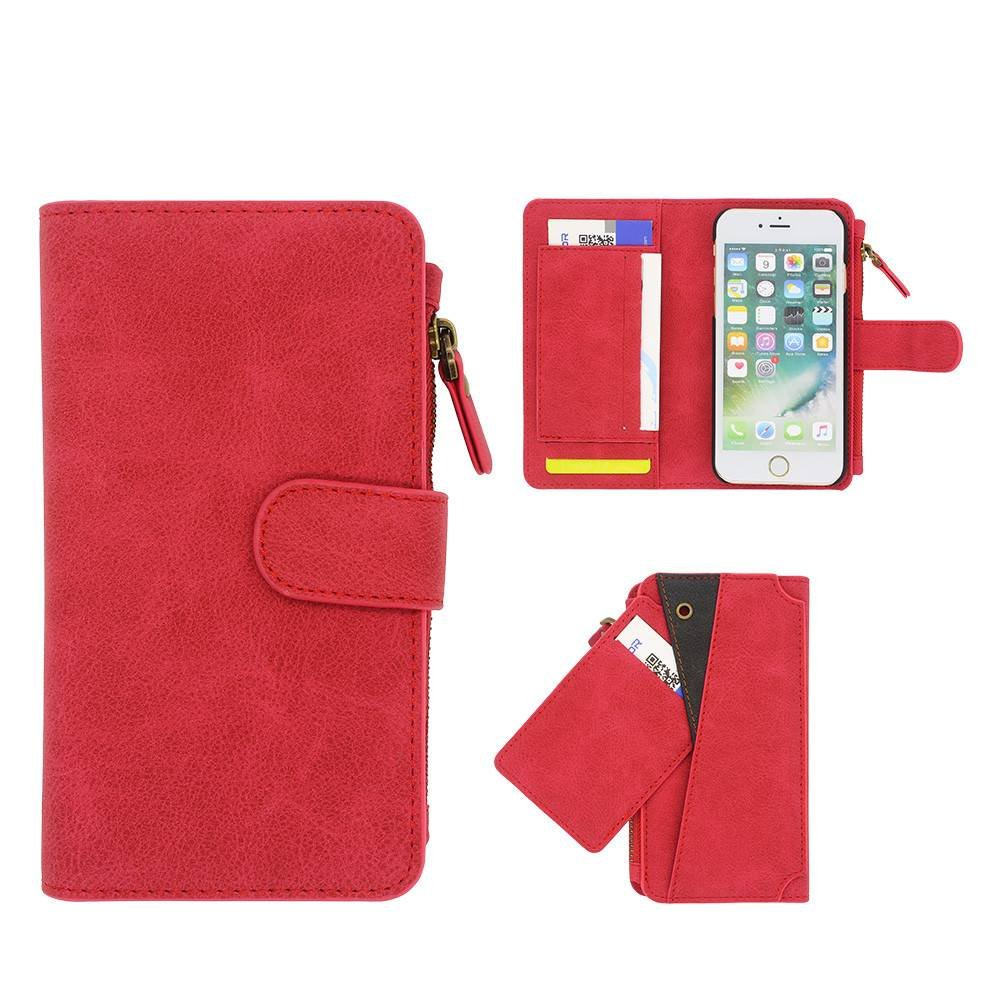 iPhone 6 Leather Case with Card Holders Fits iPhone 7