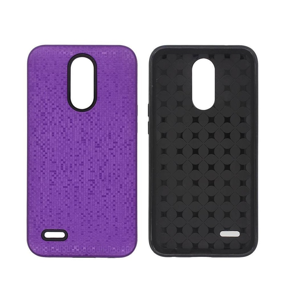 Combo Protective Case LG K10 2017 with Mosaic Patterns