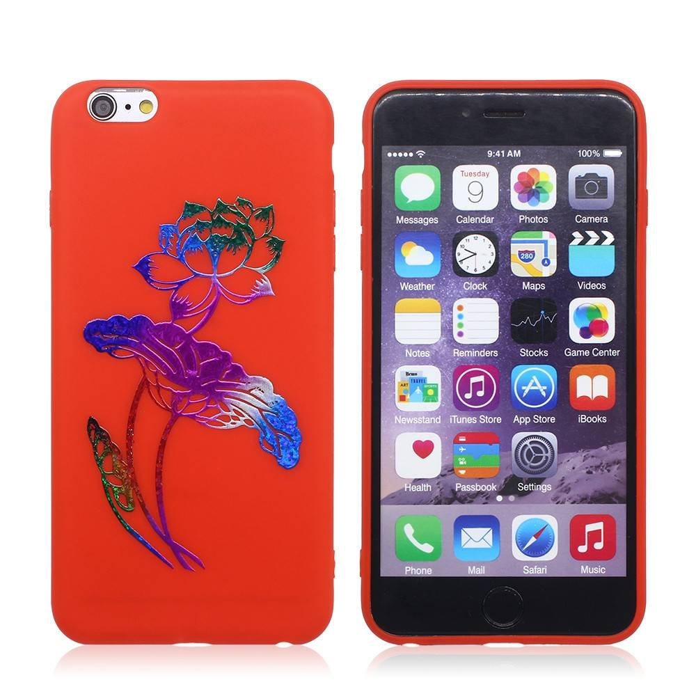 Ultra Slim Bronzing iPhone 6 Plus TPU Phone Case