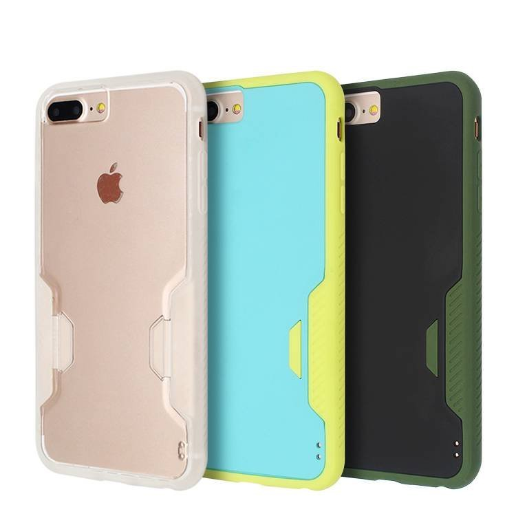 PC and TPU 360 Degree Protective Case for IPhone 6/7
