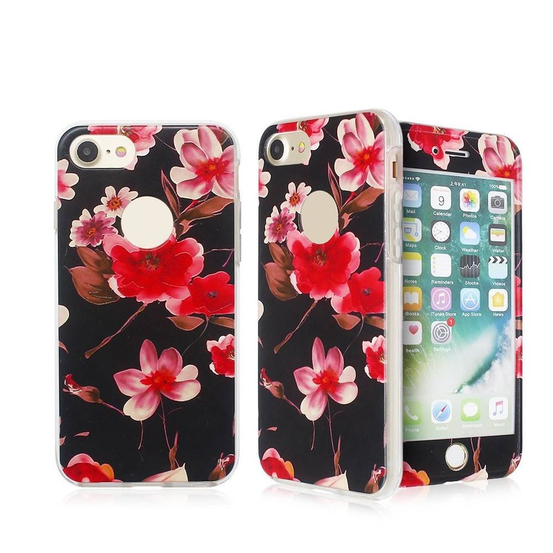Fully Protective Embossed Pretty Phone Case for iPhone 7