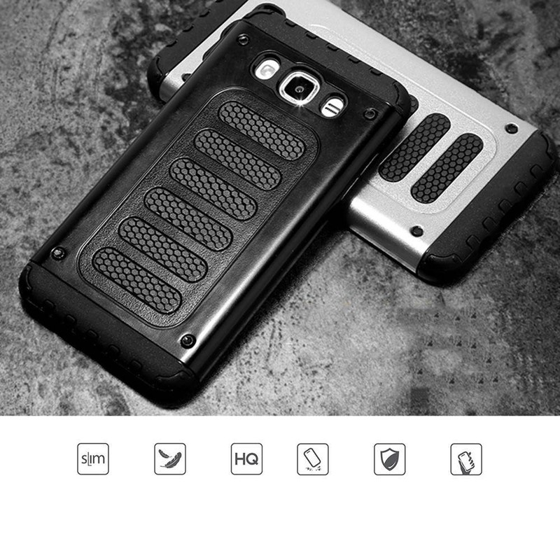 Piano Key diseño a prueba de golpes TPU para Samsung J510