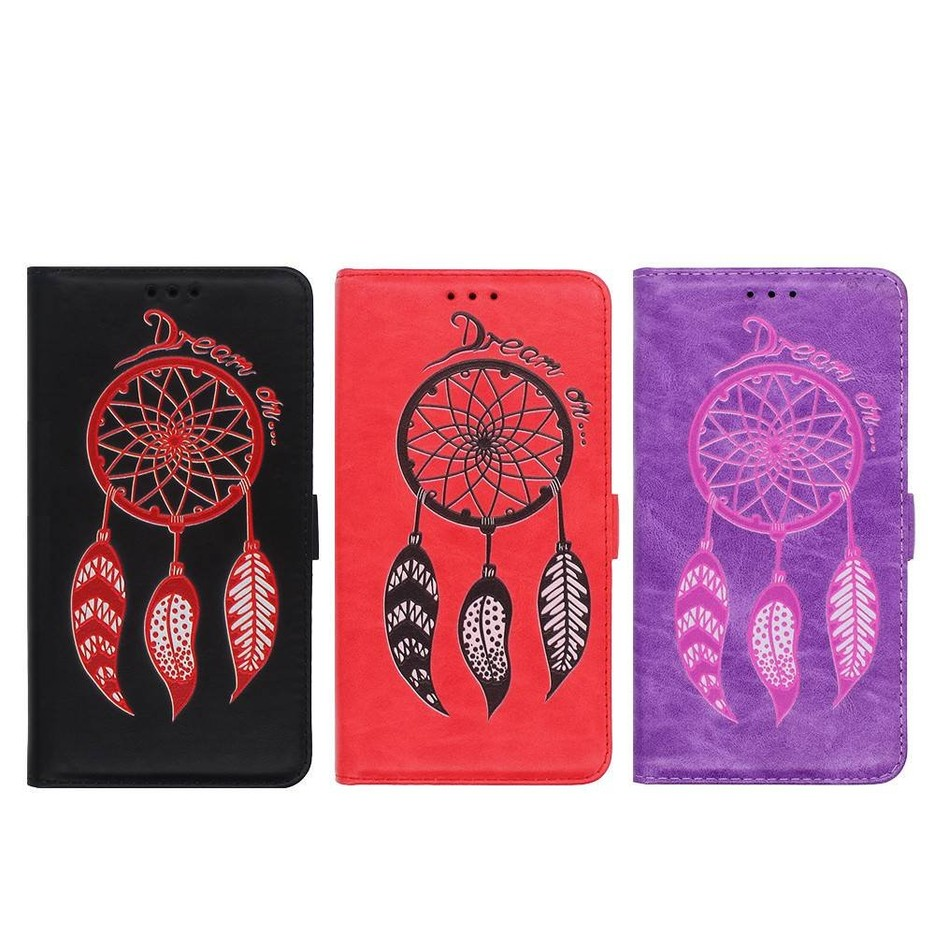 Cartera Samsung J7 2016 caso con patrones Dream Catcher