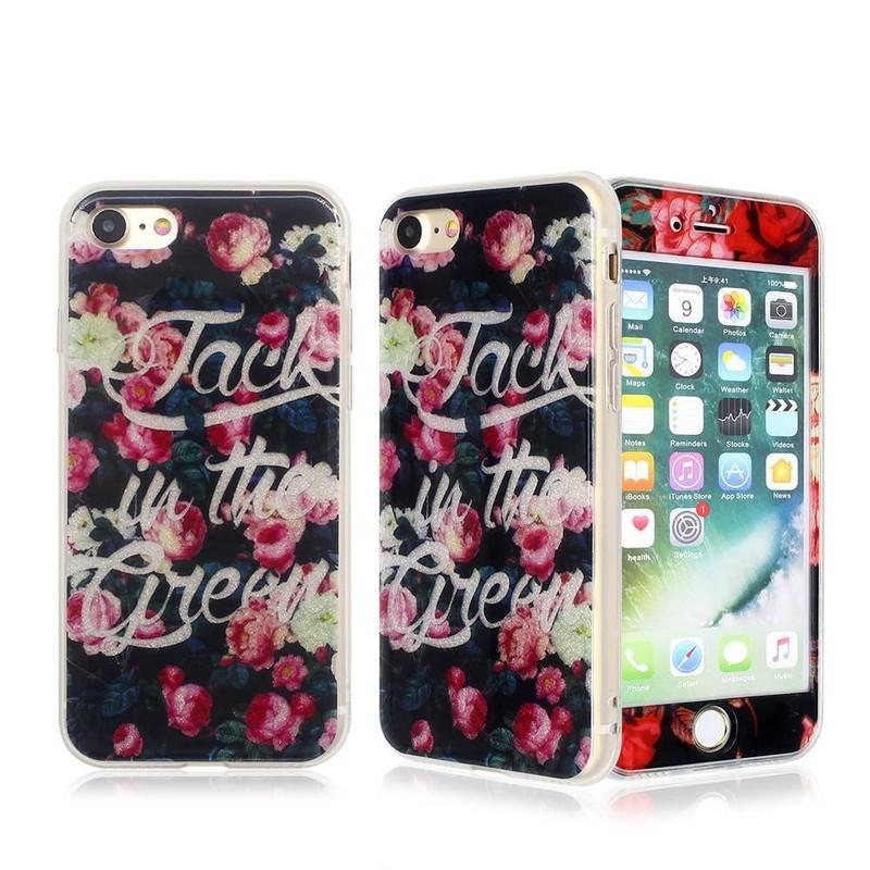 Colorido IMD caja del teléfono totalmente protectora para el iPhone 7 para la venta al por mayor