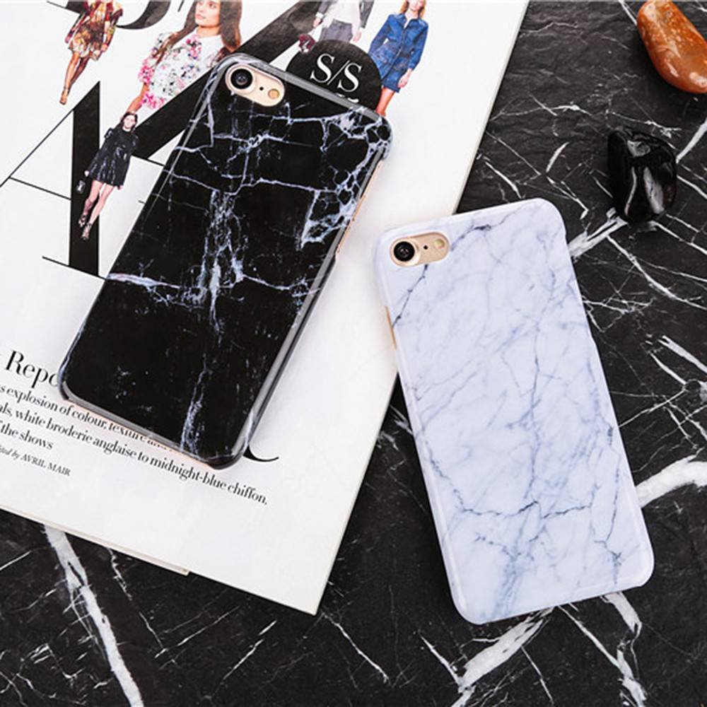 Ultra Slim iPhone 7 PC phone Case with Marbling Patterns