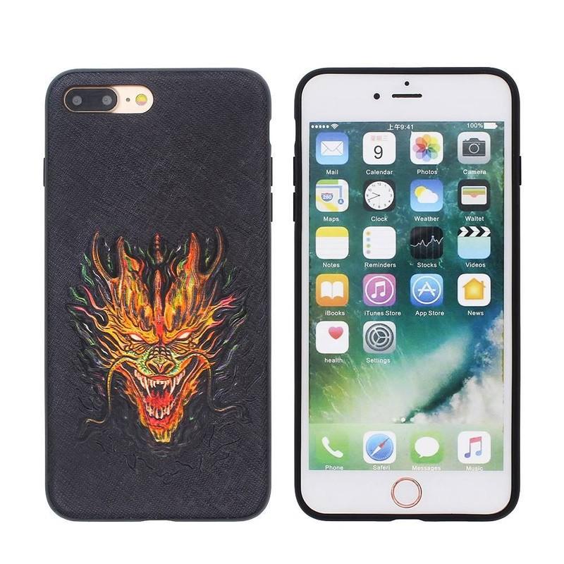 Funda iPhone 7 Plus Slim con Cool Dragon Image