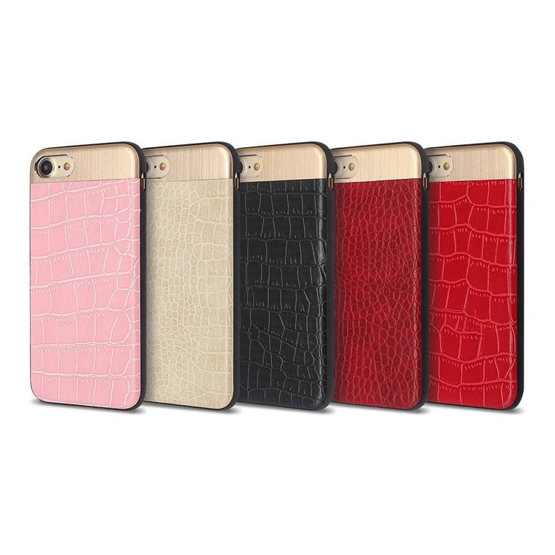 New iPhone 7 Cases with Metal and PU Decoration