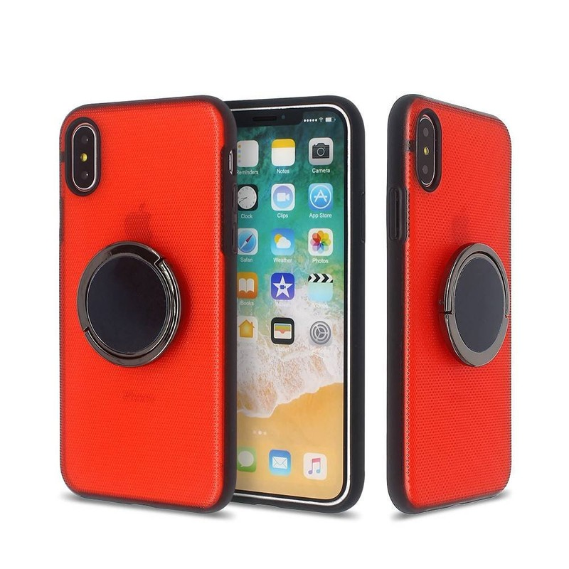 iPhone X New Phone Cases with Rotatable Rings